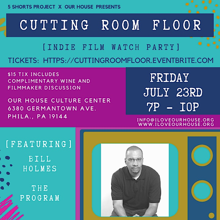 Cutting Room Floor - Indie Film Watch Party + Discussion image