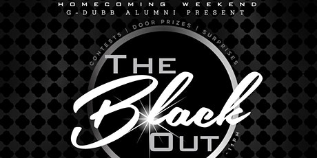 G-Dubb The Black Out Reunion Party tickets