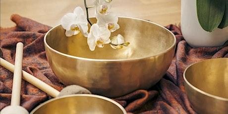 Calming Sound Bath with Tibetan Singing Bowls tickets