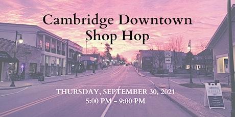 Cambridge Downtown Shop Hop tickets