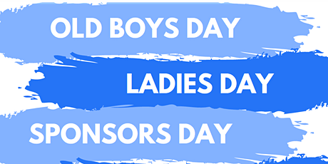 Old Boys, Ladies & Sponsors Day 2021 tickets