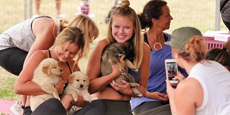 Yoga with adoptable puppies at Pet-A-Palooza Victoria tickets