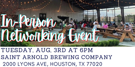 AWIS-GCH In-Person networking event tickets