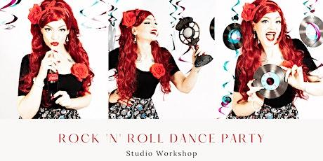 Creative Portrait Workshop - Rock n Roll Dance Party - PM Session tickets