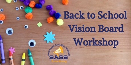 Vision Board Workshop for Back-to-School Middle Schoolers tickets