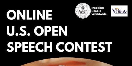 U.S. Open Speech Contest Online - For 18 & Up tickets