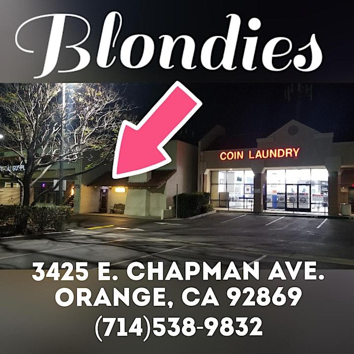 """SIN"" - Service Industry Night @ Blondies in Orange! image"