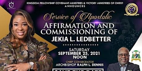 Affirmation & Commissioning of Jekia L. Ledbetter tickets