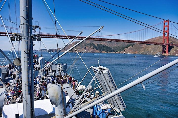 2021 San Francisco Fleet Week Cruise on the SS Jeremiah O'Brien SATURDAY image