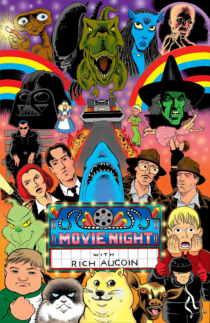 Movie Night with Rich Aucoin and Very Special Guest Aquakultre image