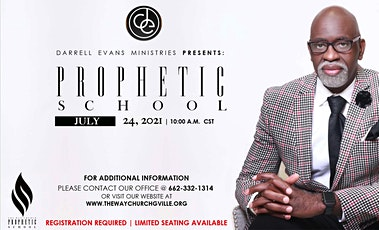 Darrell Evans Ministries Present Prophetic School Session 6 tickets
