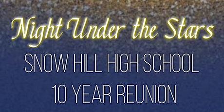 Snow Hill High School  C/O 2011 Ten year Reunion tickets