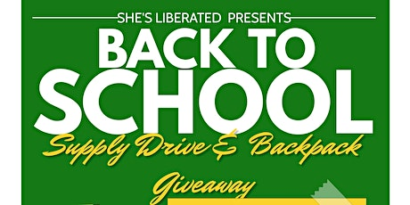 Back to School Backpack Giveaway tickets