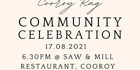 Cooroy Rag Community Celebration tickets