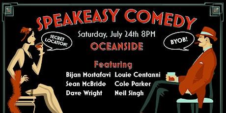 Speakeasy Comedy in Oceanside tickets