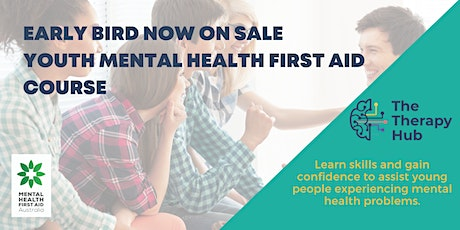 Youth Mental Health First Aid Melbourne 11 & 12 September tickets