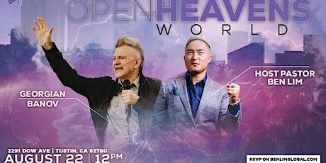 Open Heavens World with Georgian Banov tickets