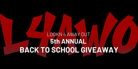 5th Annual Back To School Giveaway tickets