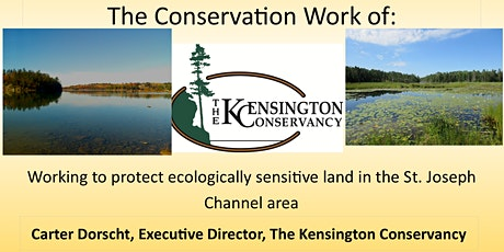 The Conservation Work of the Kensington Conservancy tickets