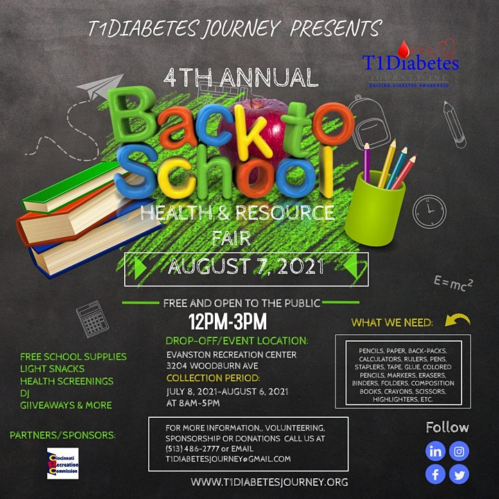 4th Annual Back To School Health and Resource Fair image