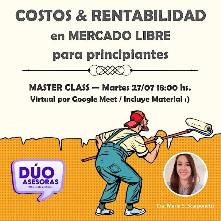 Imagen de COSTOS & RENTABILIDAD en MERCADO LIBRE