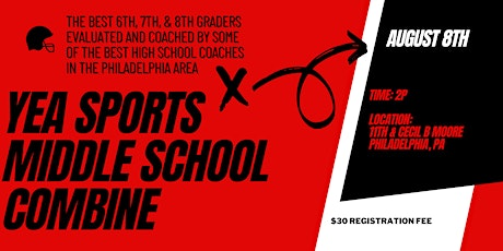 YEA Sports Middle School Combine tickets