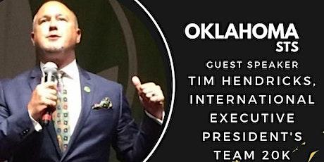 Oklahoma STS-Tim Hendricks tickets