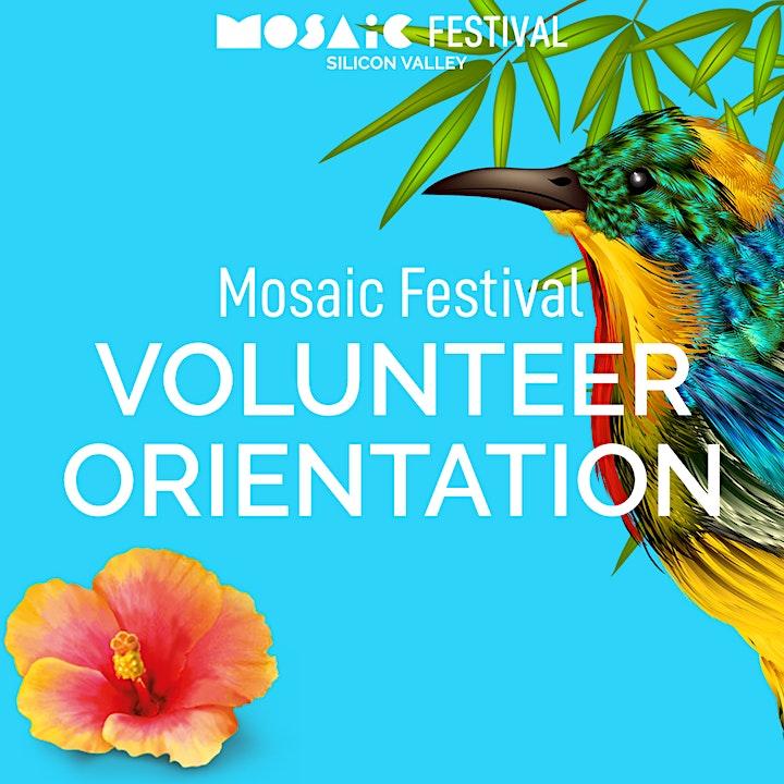 Mosaic Festival - Volunteer Orientation image