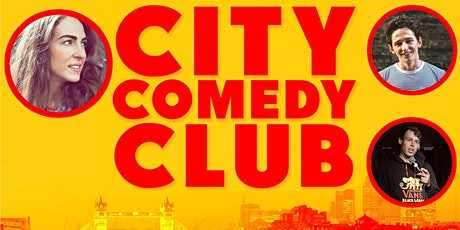 CITY COMEDY CLUB: 27 AUGUST tickets