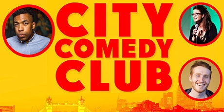 CITY COMEDY CLUB: 28 AUGUST tickets