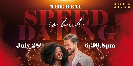 The Real Speed Dating Event (21-45) is back! tickets