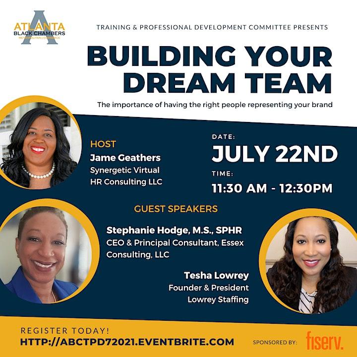 Building Your Dream Team! image