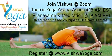 Tantra Yoga - Asana, Pranayama and Meditation biglietti