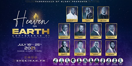 7 DAY CONFERENCE - Tabernacle of Glory (Miami - NMSHS GYMNASIUM/AUDITORIUM) tickets