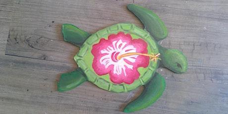 Wooden Turtle Paint night tickets