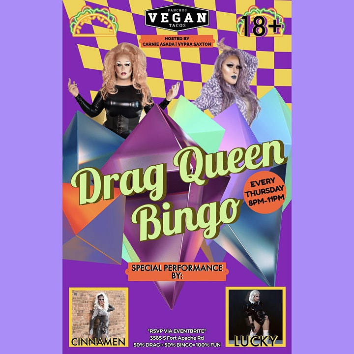 Voted Best Drag Queen Bingo FREE fun prizes! image