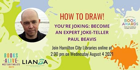 Books Alive Online Event: Illustration Workshop with Paul Beavis tickets