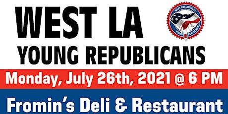 West LA Young Republicans July Mixer tickets