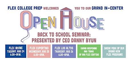 FLEX College Prep's Grand In-Center Open House (Cupertino) tickets