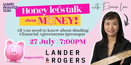 Honey, Let's Talk About Money! tickets
