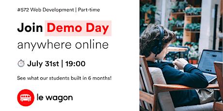 Le Wagon Online Demo Day - Batch 572 tickets