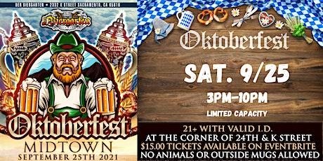 Oktoberfest Midtown Sacramento - 2021 tickets