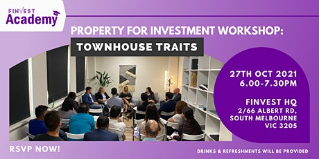 Property for Investment Workshop:  Townhouse Traits tickets