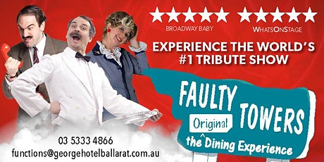 Faulty Towers Dinner show tickets