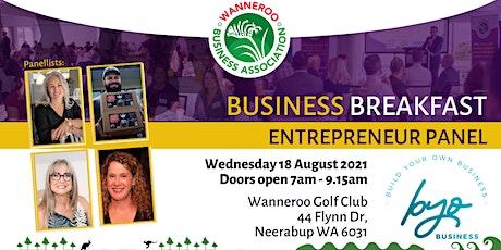 Business Breakfast Hot Seat Series - Entrepreneurs Panel tickets