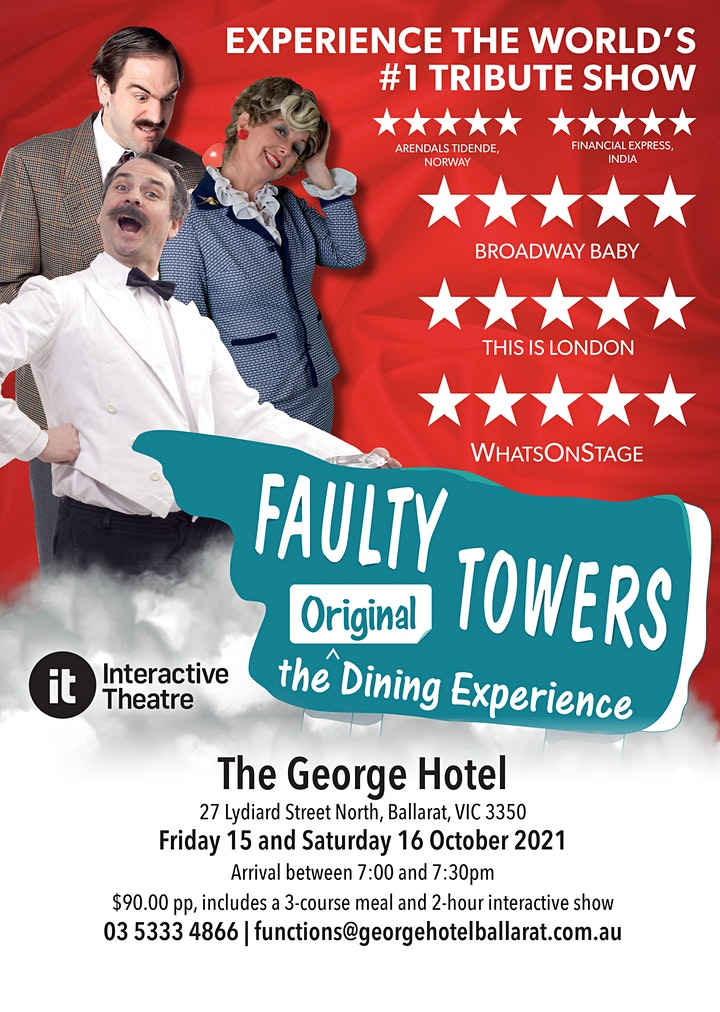 Faulty Towers Dinner show image