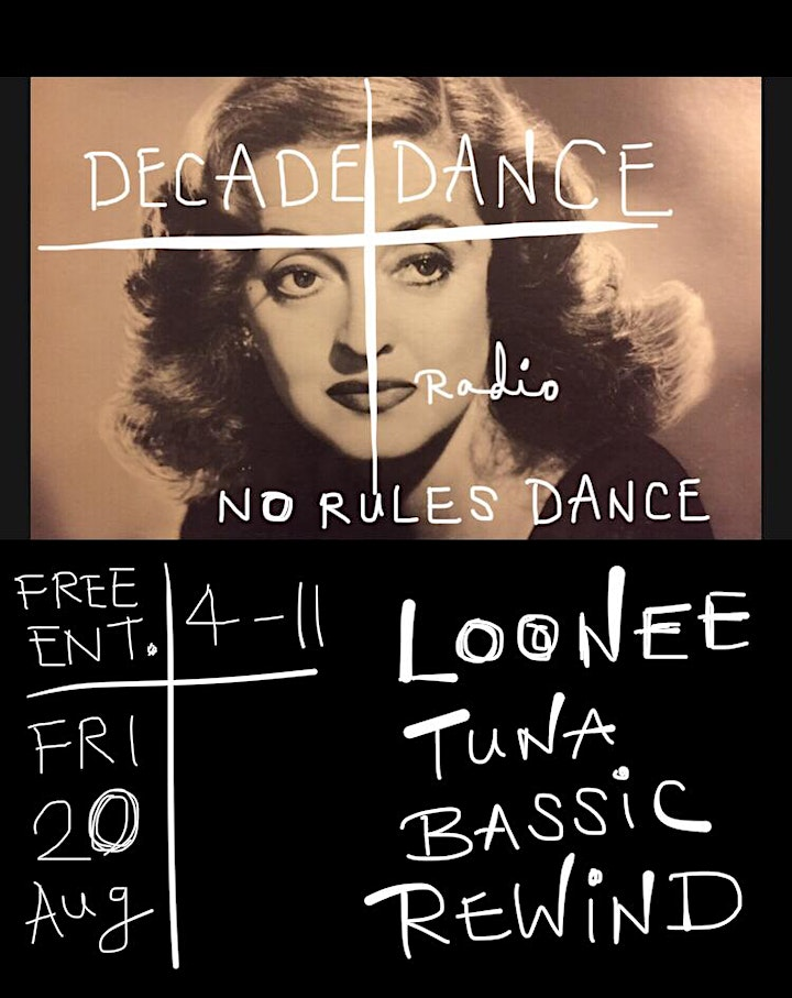 DECADE DANCE: Free Dance Music Party, 4pm - 11pm image