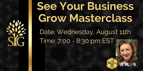 See Your Business Grow Masterclass tickets