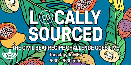 Locally Sourced: The Civil Beat Recipe Challenge Goes Live tickets