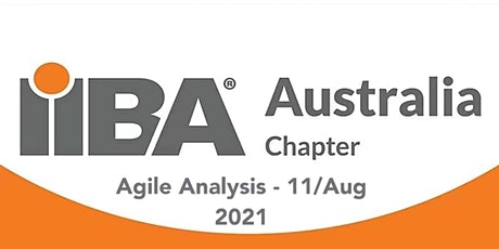 IIBA Perth: Agile Speaker Gilly Amardeep - Wed 11 Aug 2021 tickets